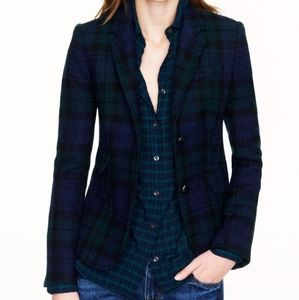 J. Crew Jackets & Coats - J.Crew Blackwatch Plaid Schoolboy Blazer